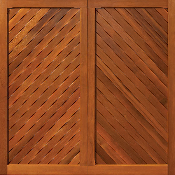 The Buckingham Range Of Wooden Garage Doors From Woodrite