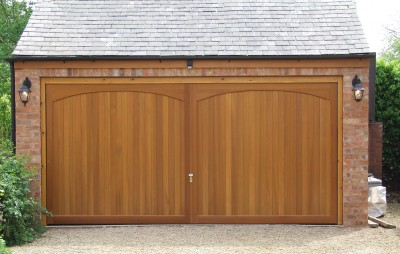 Timber garage doors uk