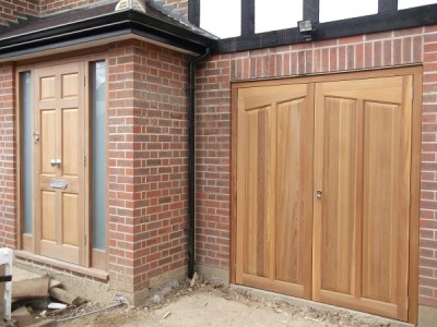 Timber Side Hinged Garage Doors Uk Images Album - Losro.com