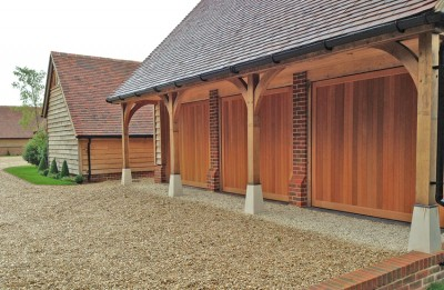 The woodrite range of wooden garage doors from woodrite for Premier garage doors